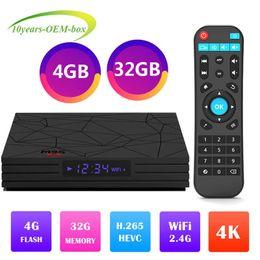 Tv Media Player Wifi Australia - M9S Y2 TV BOX Rockchip RK3328 Quad Core Android 8.1 TV Box 4GB 32GB ROM Smart Tv 2.4G Wifi H.265 Media Player IPTV 1080P Media Player