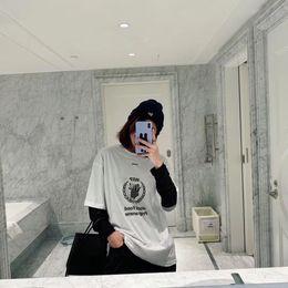 $enCountryForm.capitalKeyWord Australia - 19SS BLCG WFP Mulitcolor Printed PARIS T-shirt Fashion Men Women Hip-Hop Short Sleeve Top Quality Summer US SIZE Tee 888
