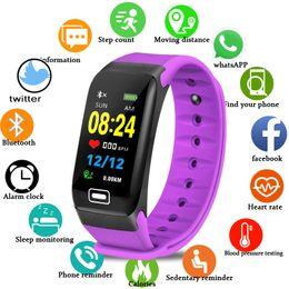 $enCountryForm.capitalKeyWord Australia - BANGWEI IP67 Waterproof Watch Men Women Sport Watch Pedometer Tracker Heart Rate Monitor Fitness Smart Watches Relogio masculino