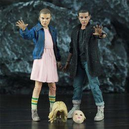 "$enCountryForm.capitalKeyWord Australia - Stranger Things Punk Eleven Will 7"" Scale Action Figure Millie Bobby Brown Original Mcfarlane Toys Tv Netflix Series Collectible Y190604"