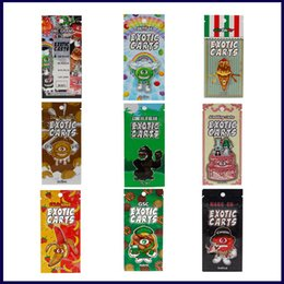 $enCountryForm.capitalKeyWord Australia - Mario & Exotic Carts 30 Flavor Stickers Packaging Bags For AC1003 Ceramic Coil Cartridge 1.0ml 1 Gram Vape Tank 510 Cartridges OEM Accept