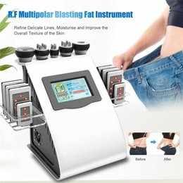 $enCountryForm.capitalKeyWord Australia - Beauty Machine Laser Slimming Equipment 6 in 1 RF Radio Frequency 40K Ultrasonic Liposuction Cavitation Body SPA Device For Weight Loss