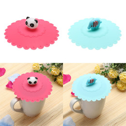 $enCountryForm.capitalKeyWord NZ - 1pc Super Cute 10.5cm Anti-dust Silicone Tea Cup Cover Decorative Animal Coffee Seal Lid Cap Kitchen Accessories