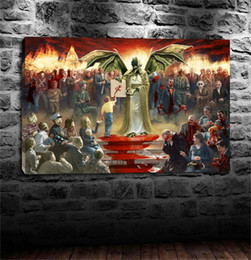 More Painting One Australia - One Nation Under Cthulhu,Home Decor HD Printed Modern Art Painting on Canvas (Unframed Framed)