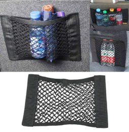 Trunk neTs for cars online shopping - Car Accessories Organizer Car Trunk Net Nylon SUV Auto Cargo Storage Mesh Holder Universal For Cars Lage Nets Travel Pocket
