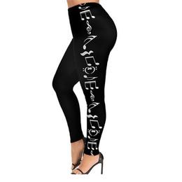 $enCountryForm.capitalKeyWord Australia - Joineles Women Music Note Print Leggings Plus Size 5XL Basic Tight Pants 2019 New Female Casual Elastic Waist Leggings