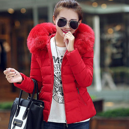 women gray hair 2019 - High imitation hair Women down jacket cotton jackets female Fashion cotton-padded winter coat large fur collar with hood
