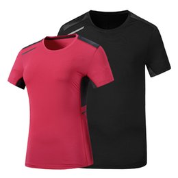Camping T Shirts Australia - Men's Summer T-shirt Woman Lady Breathable Quick Dry Girl Outdoor Hiking Camp Fish Climb Run Sports Oversized Fast Dry 6XL Shirt