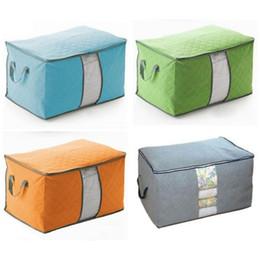$enCountryForm.capitalKeyWord Australia - wholesale home Portable Large Casual Travel Bag Non-woven Clothes Lage Storage Bags Anti-dust Storage Boxes Clothes Quilt Laundry Pillows