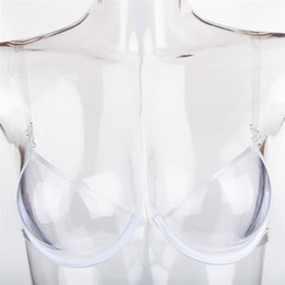 Hot bras brands online shopping - Sexy Women Invisible Bra Transparent Bras Plastic TPU Push Up Bras One Off Clear Bra Disposable bra One Time Bust Shaper Underwear Hot