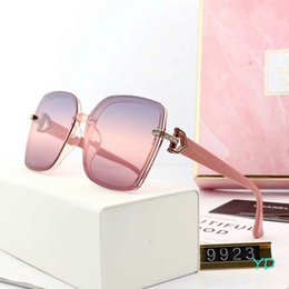 $enCountryForm.capitalKeyWord NZ - Fashionable Womens Designer Sunglasses Luxury Sunglasses Adumbral Goggle Brand Driving Sun Glasses Style 9923 5 Colors High Quality with Box