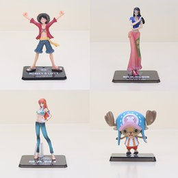 $enCountryForm.capitalKeyWord Australia - Toys Hobbies Action Toy Figures 6-16cm Anime One Piece figure After 2 years Monkey D Luffy Nami Chopper Nico PVC Action painted