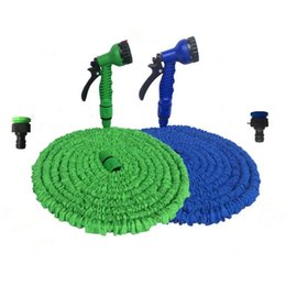 expandable hose spray UK - garden hose expandable magic flexible water hose EU hose plastic hoses pipe with spray gun to watering car wash spray