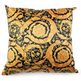 18 inch cushions online shopping - Imitation Silk Material Scatter Cushion Covers Pillowcase Cojin Home Decorative Inches Soft Square Pillow Cases for Seat Car Sofa by DHL
