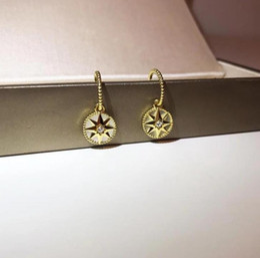 3a4eb94f3fdc Joyería de lujo 925 chapado en plata de oro grueso brújula