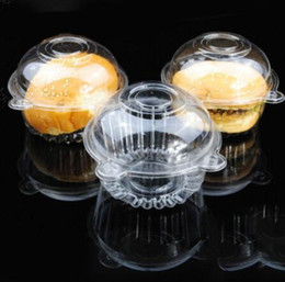 $enCountryForm.capitalKeyWord Australia - Hot Hat Clear Plastic Disposable Plastic Cake Container Cupcakes Packaging Box Cake Box Salad Bakeware Kitchen Tool