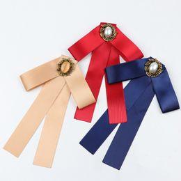 $enCountryForm.capitalKeyWord NZ - Butterfly Bow Tie Vintage Lady Head Tassel Girls Elegant Costume Jewelry Collar Girl Cravat
