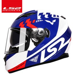 $enCountryForm.capitalKeyWord Australia - LS2 ff328 motorcycle helmet with inner sun visor dual lens moto helmet full face without airbag casque moto capacete