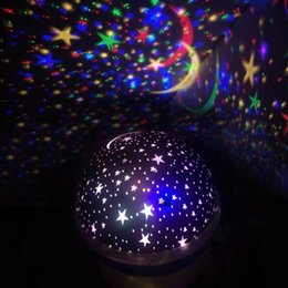 rotating lamps Australia - Rotating Night Light Projector Spin Starry Sky Star Master Children Kids Baby Sleep Romantic Led USB Lamp Projection
