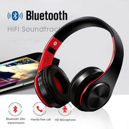 $enCountryForm.capitalKeyWord NZ - YEINDBOO Bluetooth Wireless Headphones PC Phone Music Earphone Foldable Head Earphones With Microphone For PC Phone Mp3