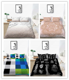 modern beds Canada - Classic 3D Printed bedding set modern Duvet Cover for girls boys adult Single Twin Full Queen Size