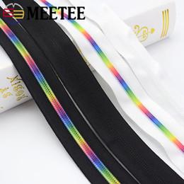 $enCountryForm.capitalKeyWord Australia - Meetee 5# Colored Tooth Nylon Zipper Black White Cloth Code Loading Zipper DIY Home Textile Bag Sewing Accessories