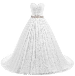 China Summer 2019 New lace breast-wiping upper body scratch back strap church wedding bride one foot tail A pendulum wedding dress suppliers