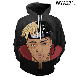 cool sweatshirt jackets Australia - 2020 new xxxtentacion hoodie hip-hop street clothing printing men women cool autumn and winter trend jacket sweatshirt