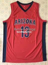 3fae38abe 13 Deandre Ayton Arizona Wilcats College Retro Top stitched Sewn basketball  jerseys Customize any number and name XS-6XL vest Jerseys Ncaa