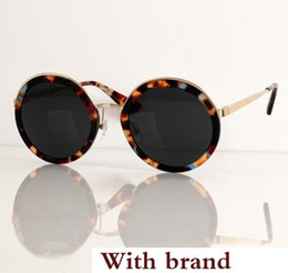 $enCountryForm.capitalKeyWord Australia - Vintage Round Frame Sunglasses Lady Fashion Design Sunglass Retro Big Frame Shades Sunglasses Classic Female Hipster Sun Glass With Box