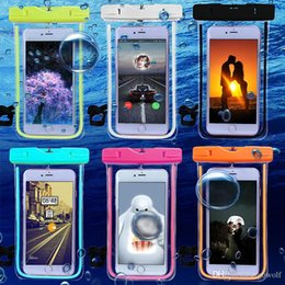 $enCountryForm.capitalKeyWord Australia - Wholesale Universal Cover Waterproof Phone Case Swim Coque Pouch Compass Bags Protective Bag Case For Diving Swimming For Samsung Galaxy S8