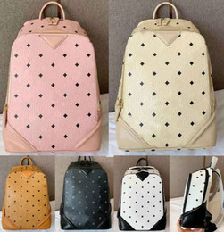 crochet punk Australia - Wholesale Brand Hot Summer Fashion Men Women School Bags Hot Punk style Man Backpack Designer Backpack PU Leather Lady Bags Travel Bag