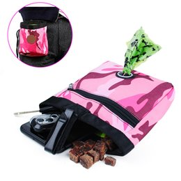 dog pack medium NZ - Portable outdoor Pet Dog cat Training Treat Snack Bait Dog Obedience Agility Outdoor Pouch Food Bag Dogs Snack Bag Pack Pouch