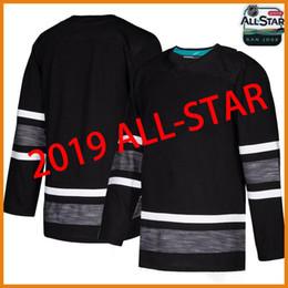 2019 All Star hockey Jerseys Black 88 David Pastrnak 87 Sidney Crosby 65  Erik Karlsson 88 Brent Burns 29 Marc-Andre Fleury jerseys 17c43076f