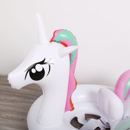 $enCountryForm.capitalKeyWord Australia - Unicorn Baby Swimming Rings Inflatable Swimming Ring Toy Water Toy for Kids Baby Infant Swiming Ring Pool Accessories
