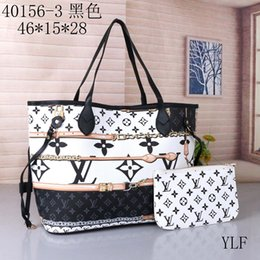 Original 2019 NEVER FULL cowhide leather handbags color leather shopping bag Never single shoulder bag Free Shipping from cosmetic stickers manufacturers