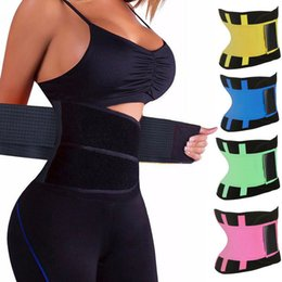 5a003adf4c 2019 New fashion Women s Fitness Waist Waist Trimmer Corset Ventilate  Adjustable Tummy Trimmer Trainer Belt Weight Loss Slimming Belt T0005