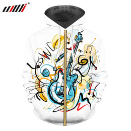 $enCountryForm.capitalKeyWord UK - UJWI new funny glossy 3D printing men's fun zipper jacket creative graffiti style Guitar men clothing