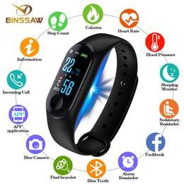 $enCountryForm.capitalKeyWord Australia - wholesale Men Women Sport Smart Bracelet Watch Bluetooth Clock Remote Camera Heart Rate Blood PressureSleep Monitor Pedometer