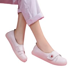 women casual shoes online NZ - Women Casual Shoes White Leather Flats Womens Classica Trainers Sports Sneakers Size 34-41 Online Slae 07