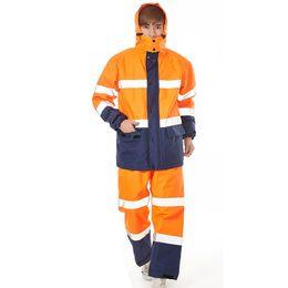 $enCountryForm.capitalKeyWord UK - Impermeable Raincoat Women Men Suit Rain Coat Outdoor Hood Women's Raincoats Motorcycle Fishing Camping Rains Gear Men's Coats