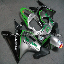 $enCountryForm.capitalKeyWord Australia - 23colors+Screws silver green motorcycle panels for HONDA CBR954RR 2002 2003 CBR 954 RR 02 03 ABS motor Fairing