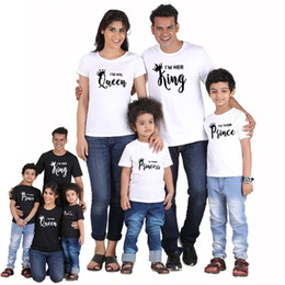 $enCountryForm.capitalKeyWord Australia - Family Matching Outfits Tops Mother Baby Daughter Matching Outfits Letter Printing O-Neck Short Sleeve T-Shirt Adult Casual Tops XXXL