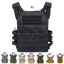 Gear vest online shopping - Tactical Vest Quick Combat Hunting Vest Molle Chest Rig Protective Plate Carrier climbing adjustable Combat Gear Vests MMA2459