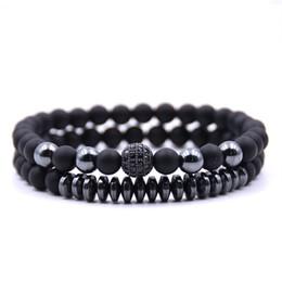 $enCountryForm.capitalKeyWord Australia - 4 Colors Austrian Crystal Beads 2pc Sets Bangles Bracelets For Women Charm Bracelet Bangles Adjustable Girls DIY Chain Gifts R5