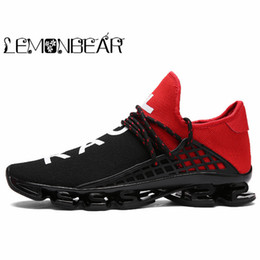 $enCountryForm.capitalKeyWord Australia - Hot 2019 Fashion Casual Shoes For Men Breathable Spring Blade Camping Shoes Men Sneakers Bounce Summer Outdoor Flats