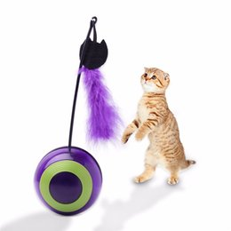 Toys Lighting Australia - Electronic Motion Cat Toy Interactive Cat Toy Multi Function Automatic Cat Toy Ball Tumbler with Chaser Light Sound