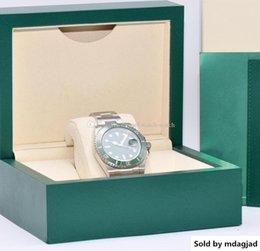 $enCountryForm.capitalKeyWord NZ - WatchesLuxury Sapphire Glass Automatic Movement Green Dial And Ceramic Bezel 40mm 116610lv Watch Stainless Steel Men S Box