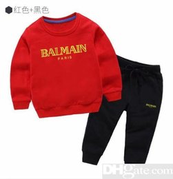 $enCountryForm.capitalKeyWord UK - 2019 brand Boys And Girls Suit Tracksuits sweater Clothing Set Hot Sell Fashion Spring Autumn Children s Dresses Long Sleeve Sweater