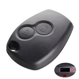 Key Clio Australia - For Renault Megane Modus Espace Laguna Duster Logan DACIA Sandero Fluence Clio Kangoo 2 Button Remote Key Shell Case
